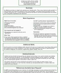 Resume Letter Email Resume Writing Format For Freshers What Not To