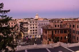 Villa borghese und spanische treppe. Hotel De La Ville Uber Den Dachern Von Rom
