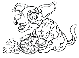 Doggie Coloring Pages Pet Coloring Pages Free Coloring Pages For