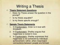thesis statement on frankenstein criminal justice paper thesis an analysis of mary shelley s frankenstein or