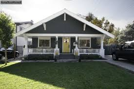 gray craftsman bungalow with white trim needs at least one more paint color ideas