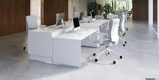 fantoni office furniture.  office quaranta5 standing desk in white in fantoni office furniture s