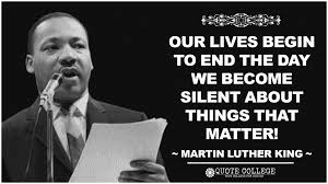 Martin Luther King Quote Silence Martin Luther King Quote Silence