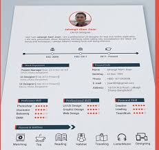 2 Page Resume Sample Extraordinary Best Free Resume Templates In Psd And Ai In 48 Colorlib Two Page