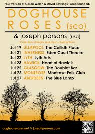 Doghouse Roses Joseph Parsons At The Blue Lamp Aberdeen On 27 Jul