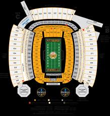 Heinz Field Seating Chart Heinz Field Seating Chart Seating Chart