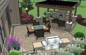 Covered Patio With Fireplace Outdoor Ideas Design Fireplaces Fire
