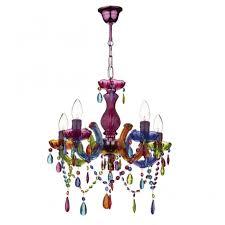 souk 5 light multi coloured chandelier