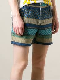 Mens Patterned Shorts Magnificent Ideas