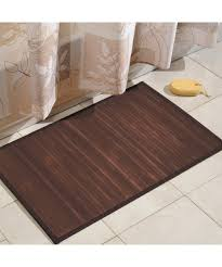 bathroom bamboo flooring. Bathroom:Simply Organized Bamboo Floor Mat Mocha Color 21x34 Inches Floormat Bathroom Flooring N