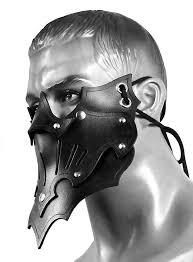 shadow assassin mask black