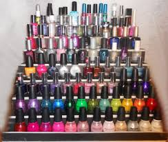 make your own nail polish display diy