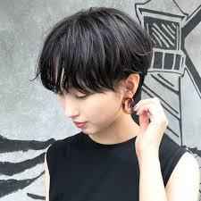 横顔美人ショート Short2019 ヘアスタイルショートヘア