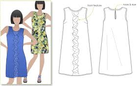 Dress Patterns Free Simple StyleArc Martine Dress