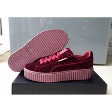 puma shoes rihanna red. rihanna x puma suede creepers wine red puma shoes rihanna red p