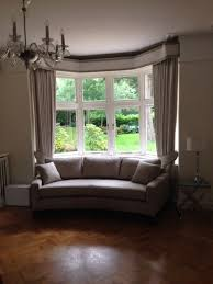 Sofa Nice Bay Window Curved Traditional