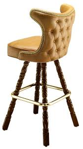 tufted bar chairs. Plain Bar Bar Stool  6816 On Tufted Chairs O