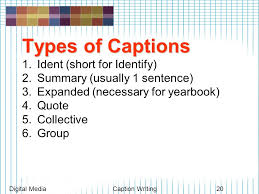 How To Write Picture Captions / Resume Builder Linux