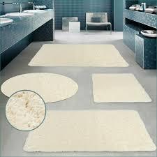 Badezimmer Vorleger Badgarnitur Cloud Beige Badezimmer Dusch Bade