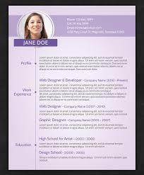 cv templatye 21 stunning creative resume templates