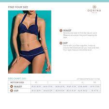 Amazon Com Dorina Womens Bikini Hipster Fiji D17082a