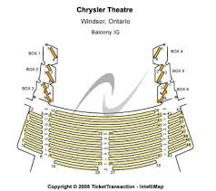 Chrysler Theatre Tickets And Chrysler Theatre Seating Chart