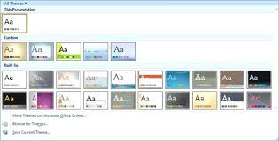 Excel Themes Create Powerpoint Template Office Themes Photo Album Excel Vba From