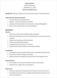 Skills Resume Template Word – Resume Bank
