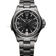 "victorinox swiss army watch shop comâ""¢ mens victorinox swiss army night vision automatic watch 241665"