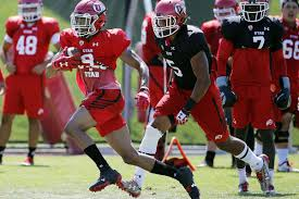 Houston Cougars Depth Chart Utah Football Four Wide Receivers Cornerback Two Deep