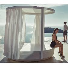 Vondom, Vela, canopy., Outdoor, Daybed, round - HomeInfatuation.com.