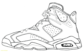 Jordan Shoe Coloring Pages Coloring Pages For Children