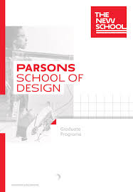 Parsons School Of Design International Tuition 2019 Parsons Graduate Programs Viewbook By The New School
