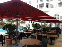 best rated cantilever patio umbrella fresh quality rotating cantilever umbrellas