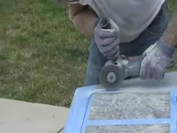 watch how to cut granite countertop with white granite countertops