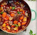 Телятина с овощами рецепт в духовке 189