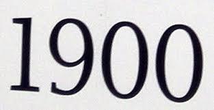 「1900」の画像検索結果