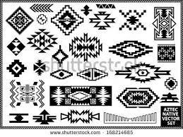 simple navajo designs. Simple Navajo Tribal Designs Stock Images Royalty Free Vectors Y