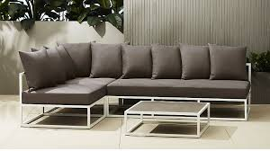 cb2 patio furniture. casbah outdoor sectional cb2 patio furniture