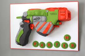 Nerf Gun Cake — Village CakeCraft