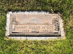 Larry Duane McCoy (1952-1980) - Find A Grave Memorial