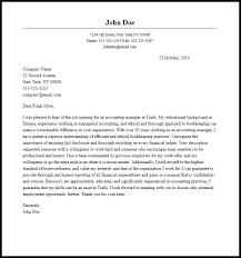 Professional Accounting Manager Cover Letter Sample Writing Guide