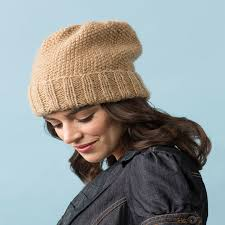 Free Knitted Hat Patterns Enchanting Knitting Patterns Galore Seed Stitch Slouchy Hat