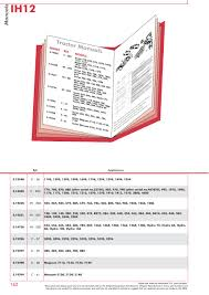 case ih catalogue body panels decals paint page sparex s 73932 case ih catalogue ih12 162