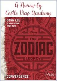 the zodiac legacy convergence a review stan lee booksdisney