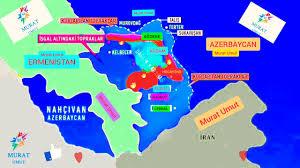 sondakika Azerbaycan Ermenistan cephe hattında son dakika haritası - YouTube