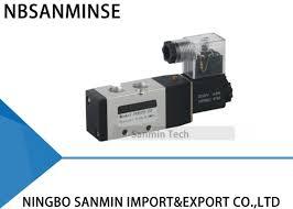 1/4 3/8 1/2 Electrical <b>Pneumatic</b> Solenoid Valve , <b>NBSANMINSE</b> ...
