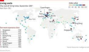 Most And Least Expensive Cities Worldwide Which Is Yours