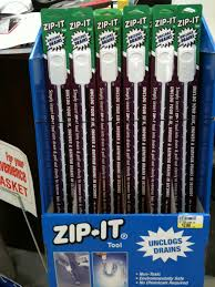 Zip-It - The easiest way to clean your drains