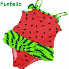 2018 Wholesale Children Girl Swimwear Baby Girl One Piece Swimsuit ...